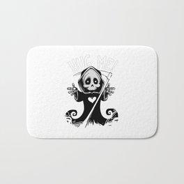 Cute Grim Reaper - Baby Death Wants a Hug! Bath Mat