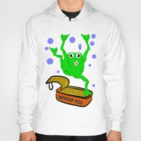 frog Hoodies featuring Frog by mailboxdisco
