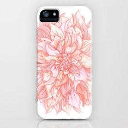 Dreamy Dahlia iPhone Case