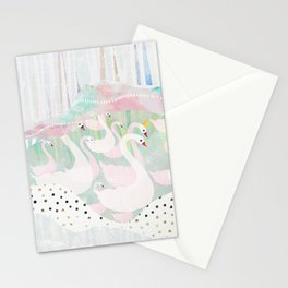on parade Stationery Cards