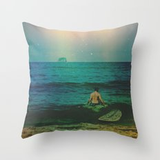 Life in the Vivid Dream Throw Pillow