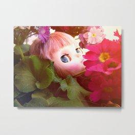 Bed flower Metal Print
