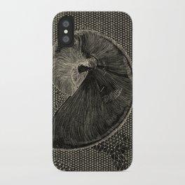 SEASHELL IN BLACK iPhone Case