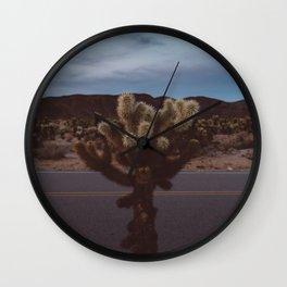 Cholla Cactus Garden XVI Wall Clock