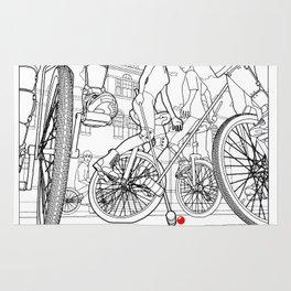Unicycle Polo Rug