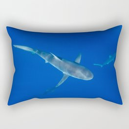 Hawaiian Shark VI Rectangular Pillow