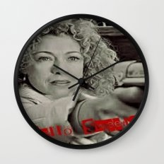 River Song; Hello Sweetie. Wall Clock