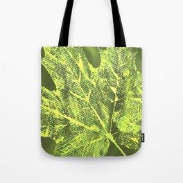 Eco botanical art print Tote Bag