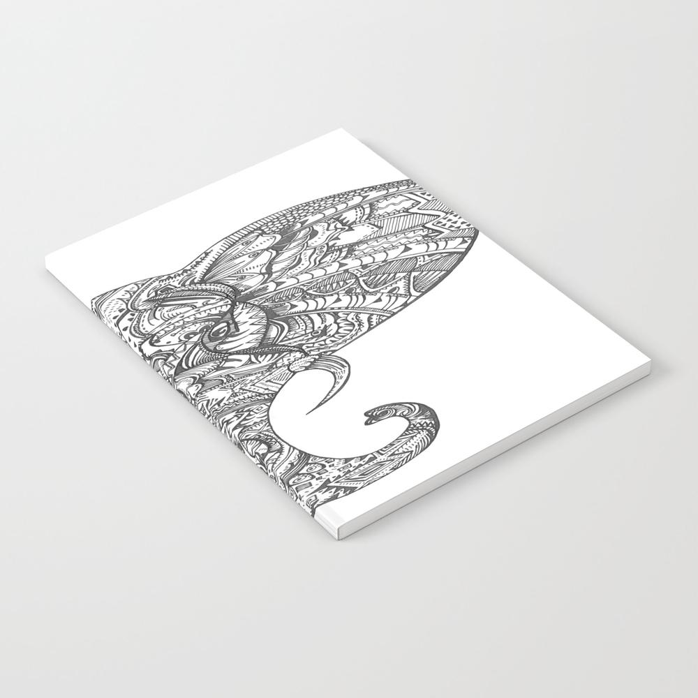 Ella The Elephant Notebook by Kellyprimack NBK8792434