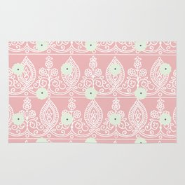 Gypsy Lace in Salmon Pink Rug