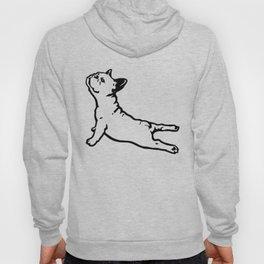 FRENCH BULL DOG YOGA NAMASTE product FUNNY GYM design DOGS Hoody