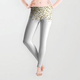 Gold Confetti Sparkle and Shine Leggings
