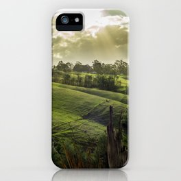 Strzelecki Station #1 iPhone Case