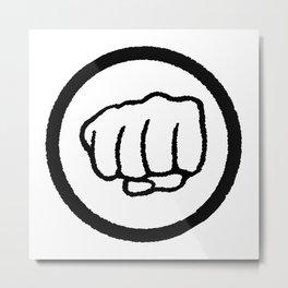 Fist Metal Print