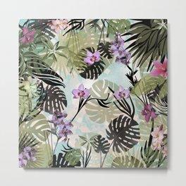 Jungleflage Metal Print