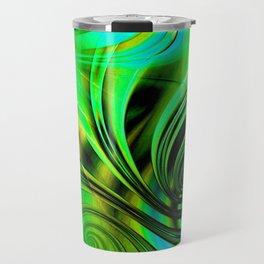 Curls Deluxe Green Travel Mug