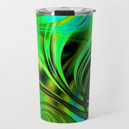 Curls Deluxe Green Travel Mug