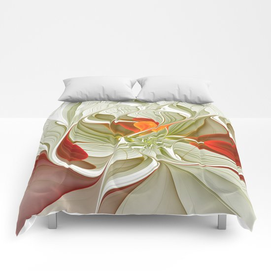 Fractal Art Bring Color Into Your Life Comforters