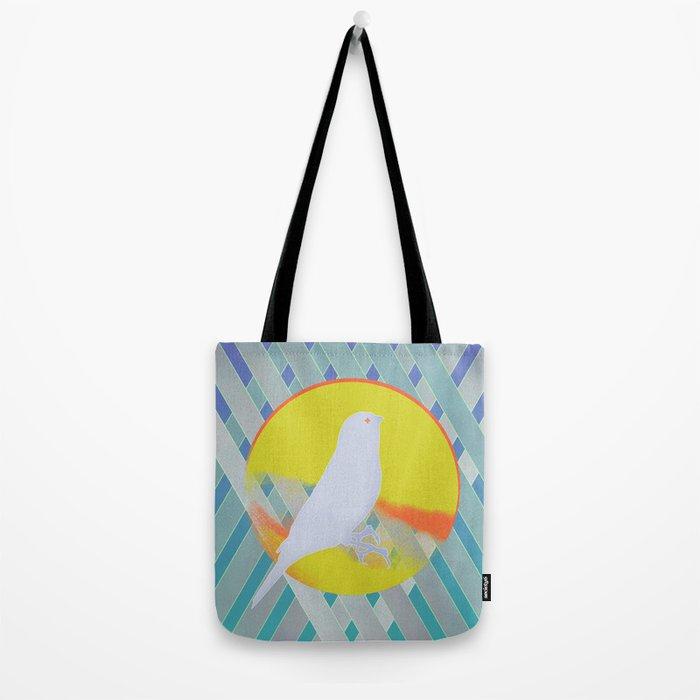 Bluebird waits summer Tote Bag