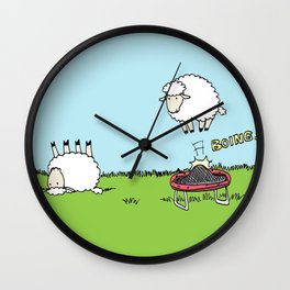 Boing Wall Clock