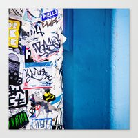 urban Canvas Prints featuring Urban by Maite Pons