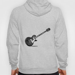 Black Guitar Hoody