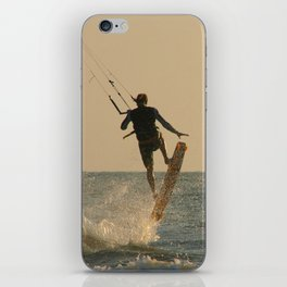 Kite Surfer Jumping Mandrem iPhone Skin