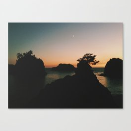 Southern Oregon Coast Sunset Canvas Print