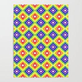 Rainbow Pride Diamonds Poster