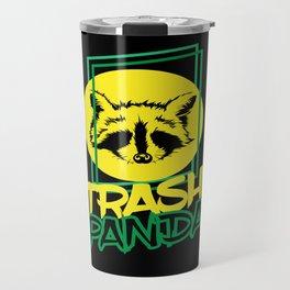Trash Panda Raccoon Animal Travel Mug