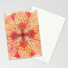 Hand Drawn Floral Mandala 02 Stationery Cards