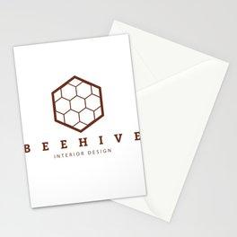 Beehive interior design Logo Stationery Cards