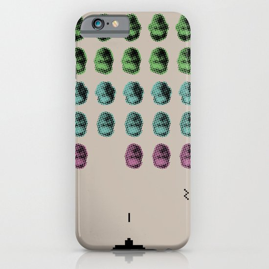 Faceinvaders iPhone & iPod Case