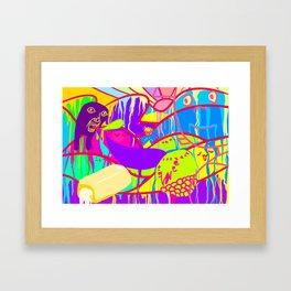 2chan Framed Art Print