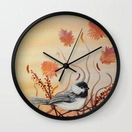 Ma mésange Wall Clock