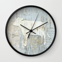 The French Cow Wall Clock