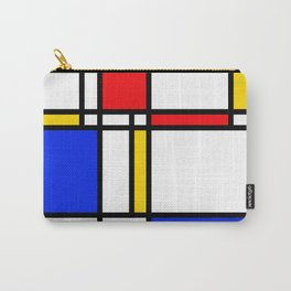 Mondrian Carry-All Pouch