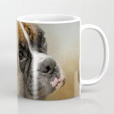 Golden Brindle Boxer Mug