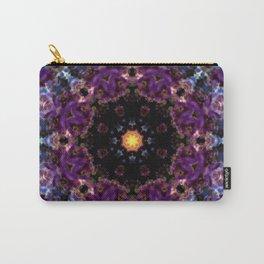 Deep Purple Mandala Carry-All Pouch