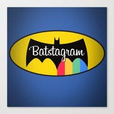 Batstagram Canvas Print