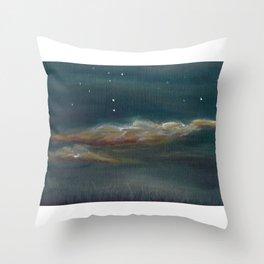 Clouds at Dusk Throw Pillow