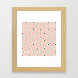 Thousand Eyes Framed Art Print