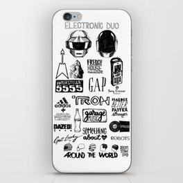 Deconstructing Daft Punk iPhone Skin