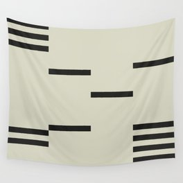 BLACK STRIPES Wall Tapestry