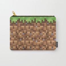 Minecraft Dirt Block Carry-All Pouch