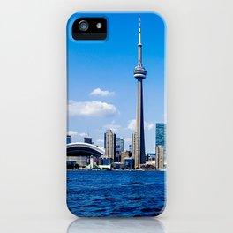 Skyline Toronto Waterfront Daytime iPhone Case
