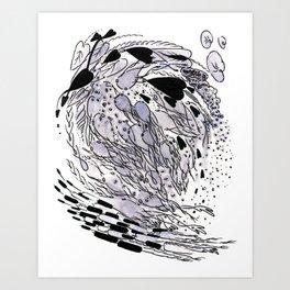 pad toll Art Print