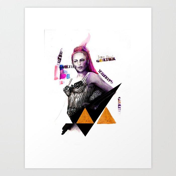 GUILTIER Art Print