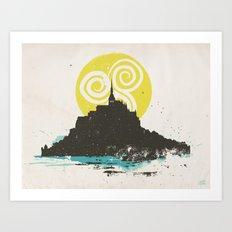 Le Mont Saint Michel (Saint Michael's Mount), Normandy, France Art Print