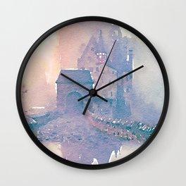 Castle 1 Wall Clock